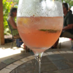 pink sangria as created in recipe