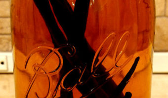 Making Vanilla Extract (& what I learned)